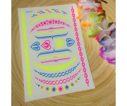 Body Tattoo NEON Ketten