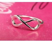 Ring Infinity Silber Gr. 51