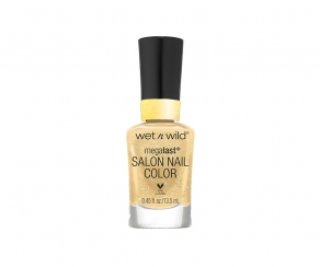 wet n wild Sequins & Stardust - Studio Glitter & Gold Nagellack