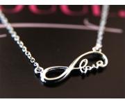 Halskette Infinity Love Silber