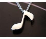Halskette Music Silber