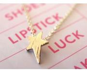 Halskette Star Gold