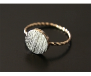 Ring Dot Gold