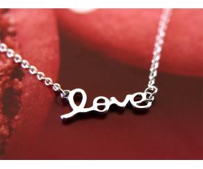 Armband Love Silber
