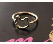 Ring Katze Gold