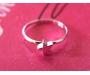 Ring Stern Silber