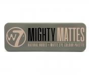 W7 Mighty Mattes Lidschattenpalette