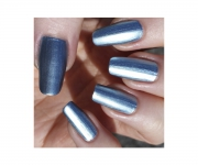 Stargazer Metal & Chrome Nagellack - 233 hellblau