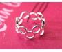 Ring Kreise Silber