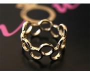 Ring Kreise Gold