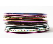 Nailart Pin-Stripes - braun