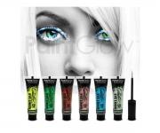 Paint Glow - Glitter Eyeliner Blau