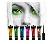 Paint Glow - Glow in the Dark Eyeliner Gelb