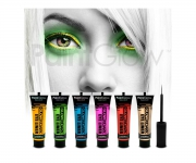 Paint Glow - Glow in the Dark Eyeliner Rot