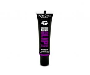 Paint Glow - UV Neon Lipgloss Blackcurrant Bomb