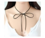 Choker Halskette Stern und Kreuz Silber