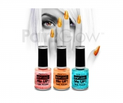 Paint Glow - UV Glitter Nagellack 3er Set