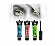 Paint Glow - UV Glitter Eyeliner 3er Set