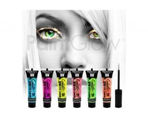 Paint Glow - UV Glitter Eyeliner 6er Set