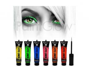 Paint Glow - UV Neon Eyeliner 6er Set