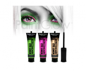 Paint Glow - Glow in the Dark Eyeliner 3er Set