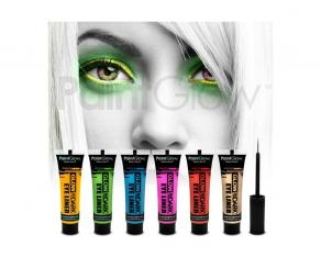 Paint Glow - Glow in the Dark Eyeliner 6er Set