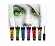 Paint Glow - Glow in the Dark Eyeliner 6er Set
