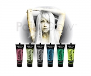 Paint Glow - Glow in the Dark Glitter Body Gel 6er Set