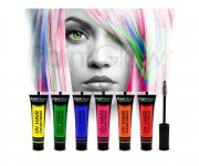 Paint Glow - UV Haar Mascara 6er Set