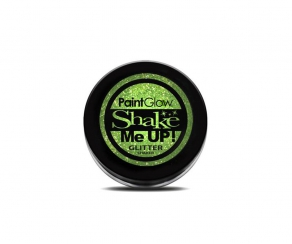 Paint Glow UV Glitter Shaker - Mint Green