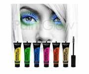 Paint Glow - Glow in the Dark Mascara Rot