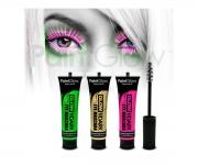 Paint Glow - Glow in the Dark Mascara 3er Set