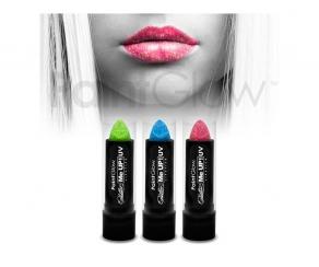 Paint Glow - UV Glitter Lippenstift 3er Set