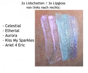 technic Holographic Lipgloss - Ariel 4 Eric