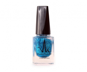 Vivien Kondor - Glitter Kollektion Nagellack Blue Glitter
