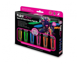Paint Glow - Neon UV Face & Body Boxset