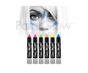 Paint Glow - Glitter UV Paint Stick 6er Set