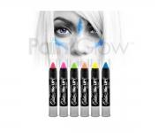 Paint Glow - Glitter UV Paint Stick 6er Set