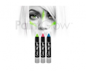 Paint Glow - Glitter UV Paint Stick 3er Set