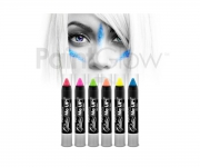 Paint Glow - Glitter UV Paint Stick Ice Blue