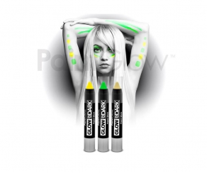 Paint Glow - Glow in the Dark Paint Stick 3er Set