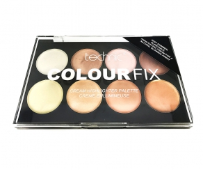 technic Colour Fix Highlighter Creme Palette