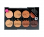 technic Colour Fix Cream Foundation Contour Palette 2 - dunkle Haut