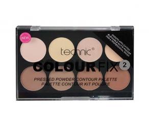 technic Colour Fix Pressed Powder Contour Palette 2 - dunkle Haut