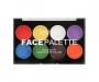 technic Face Palette - bunt