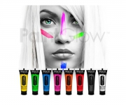 Paint Glow - Neon UV Face & Body Paint Rot