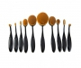 Make-up Pinsel Set - schwarz