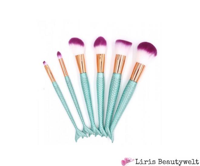 Mermaid Make Up Pinselset Türkis Liris Beautywelt Online Shop