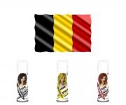 WM Fan Haarspray - Belgien