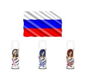 WM Fan Haarspray - Russland